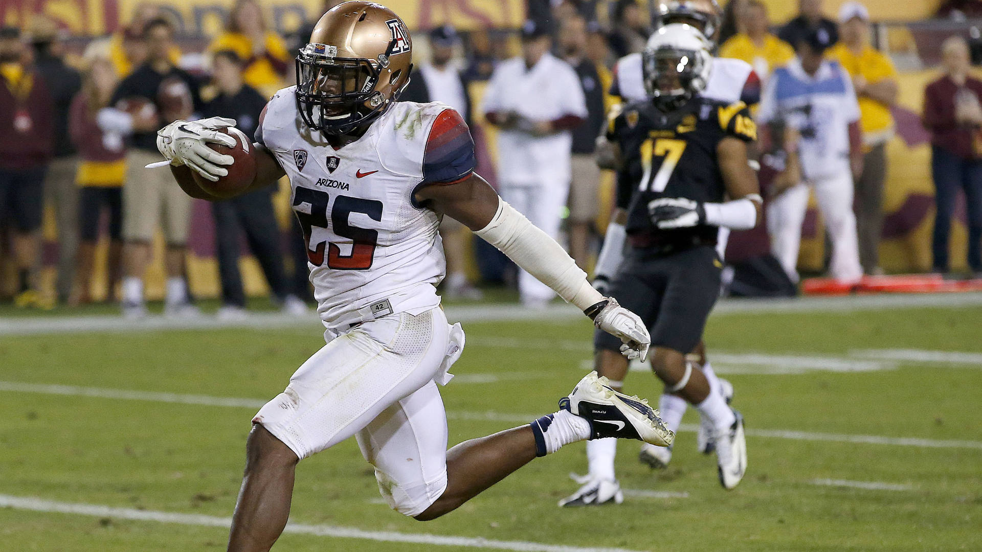 2014 NFL Draft -- Bears select RB Ka'Deem Carey in fourth round