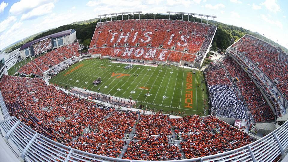 Image result for virginia tech stadium