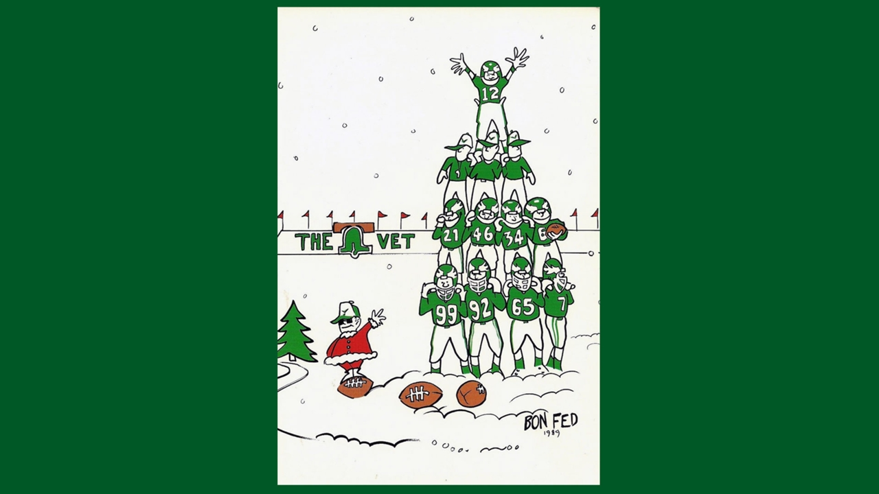 Vintage Holiday Greetings From Your Favorite Teams Sporting News