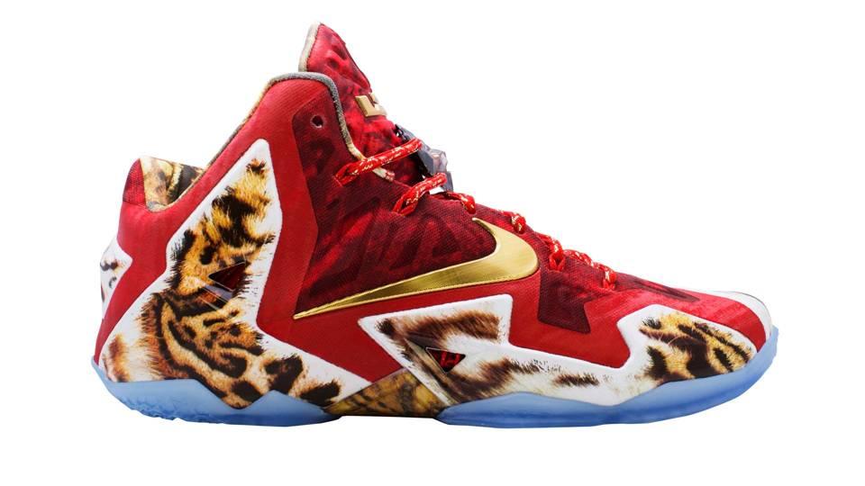 nike reveals new lebron shoes won through nba 2k14 nba