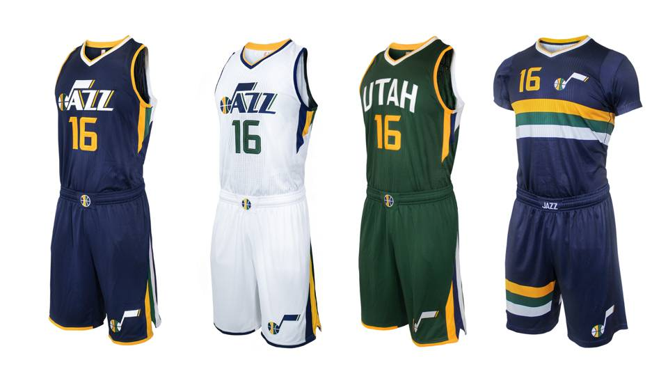 Utah Jazz reveals some new with hint of old in refresh to uniforms ... adef44076