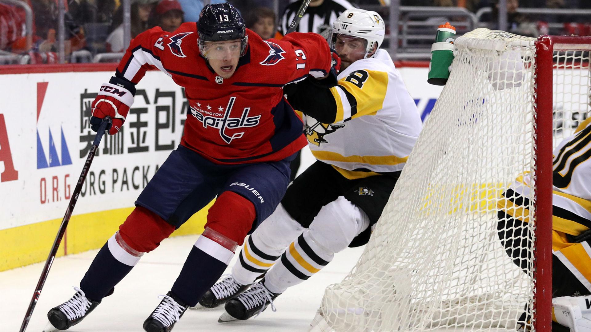 NHL playoffs 2018: Capitals' Jakub Vrana nets Game 5 winner, pushes Penguins to brink