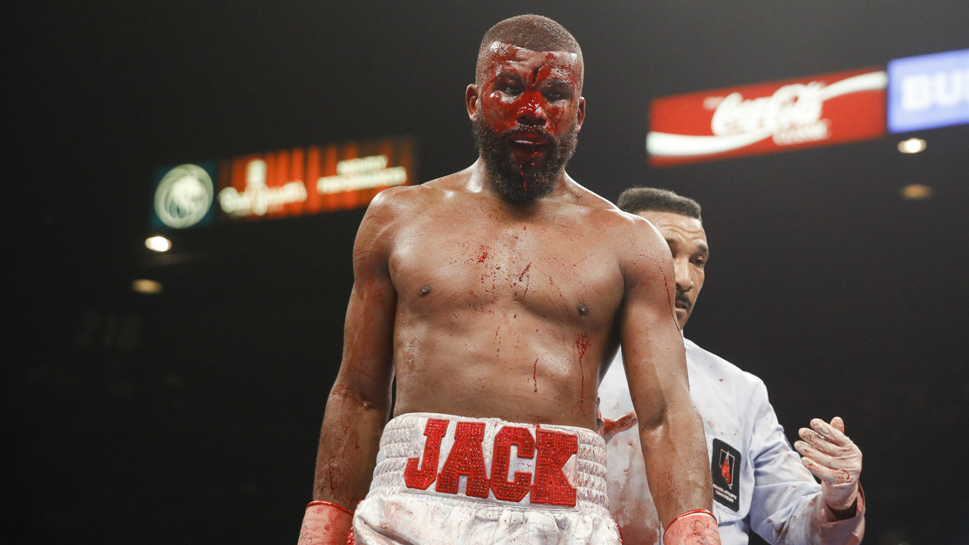 Badou Jack wants to return 'sooner rather than later' after suffering nasty gash on forehead