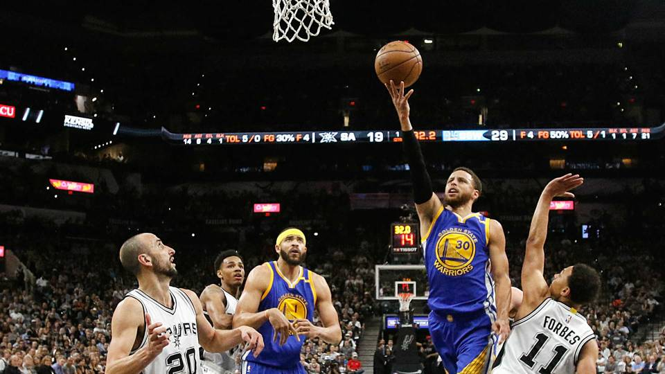 NBA playoffs 2017: Warriors make history with sweep of ...