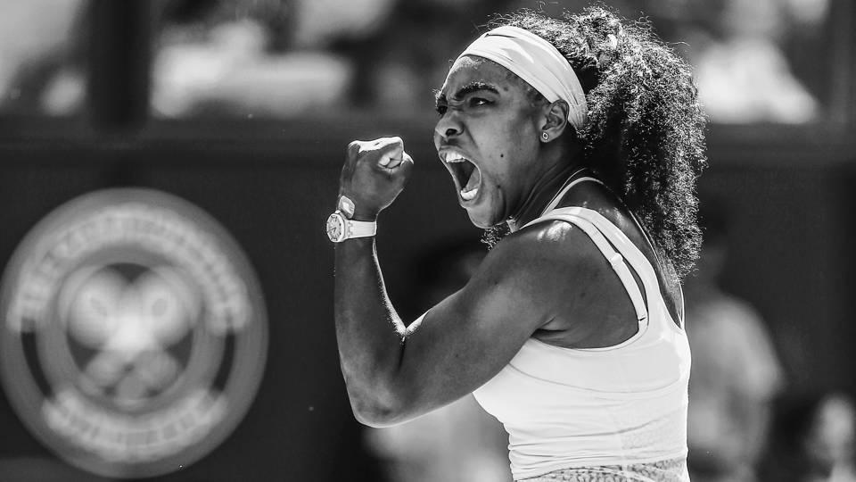 Classic photos of Serena Williams