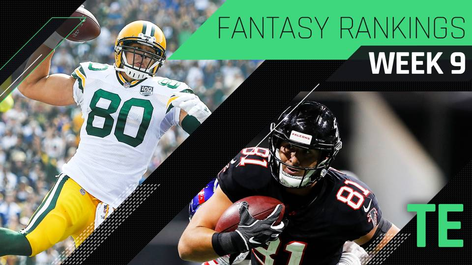 Fantasy-Week-9-TE-Rankings-FTR