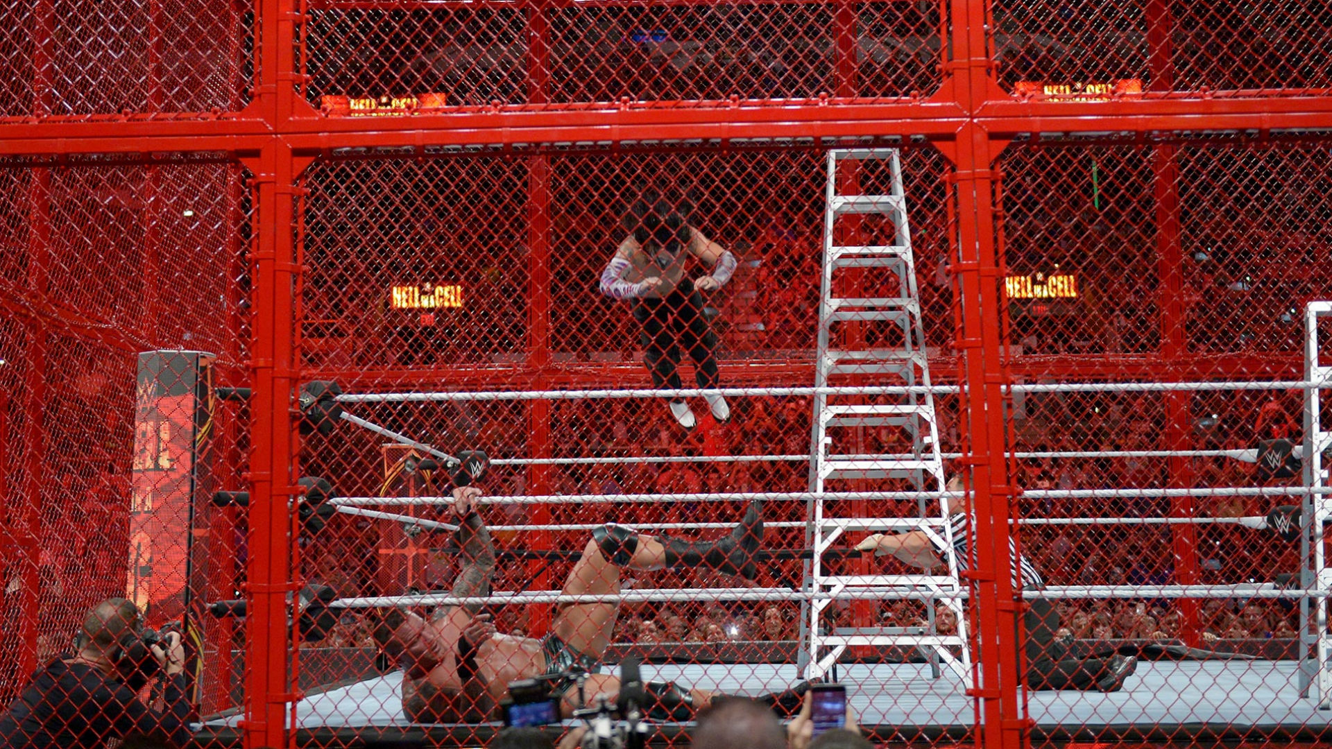 Am I the only one? What the Hell in a Cell was up with the Reigns-Strowman non-finish?