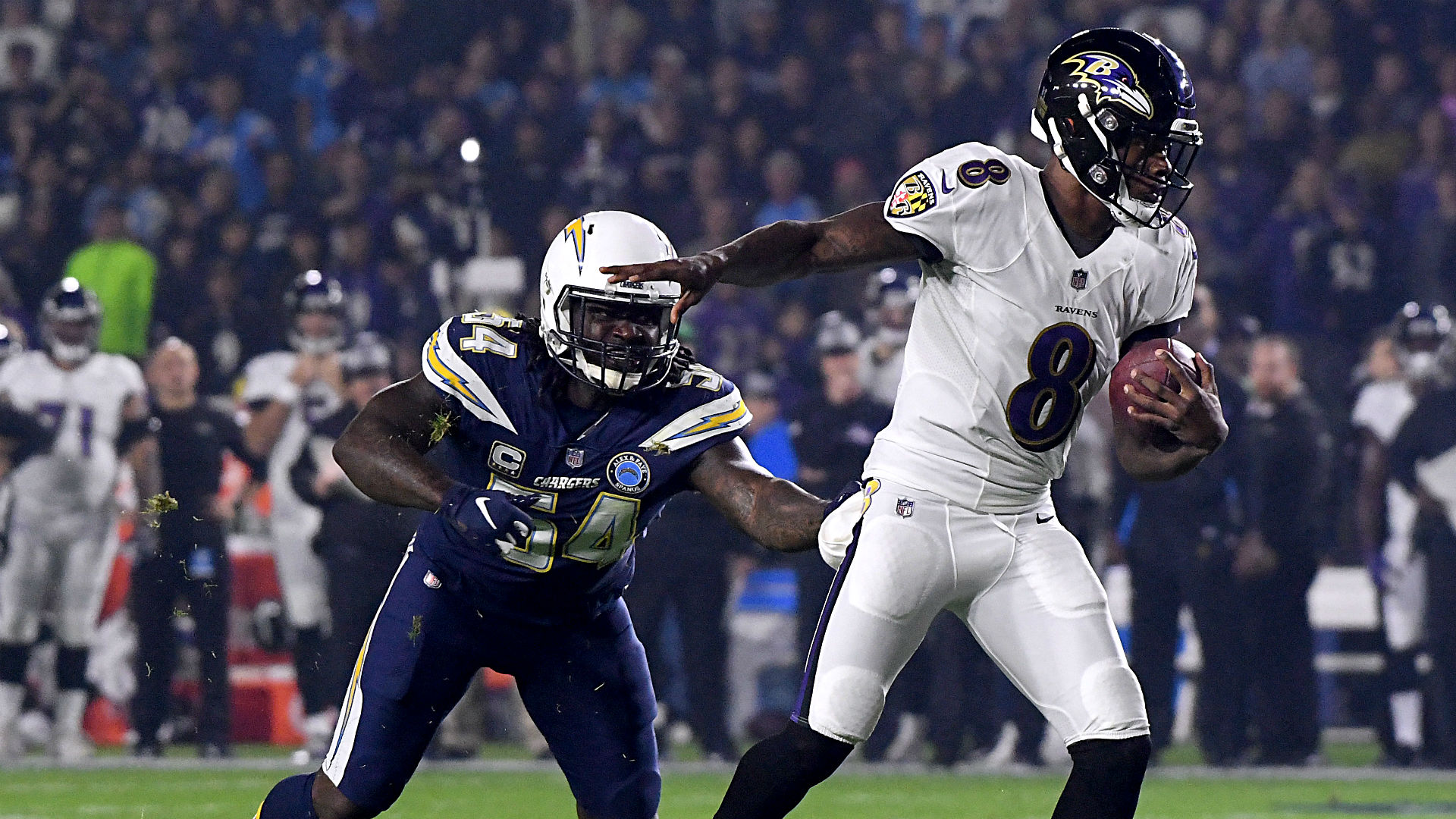 Ravens vs. Chargers results: Score, highlights as Baltimore stays alive in playoff race