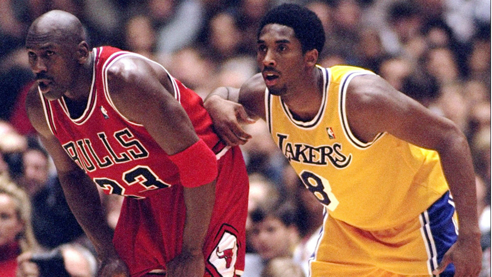 Kobe Bryant talks about playing Michael Jordan for the first time ... c777a196e