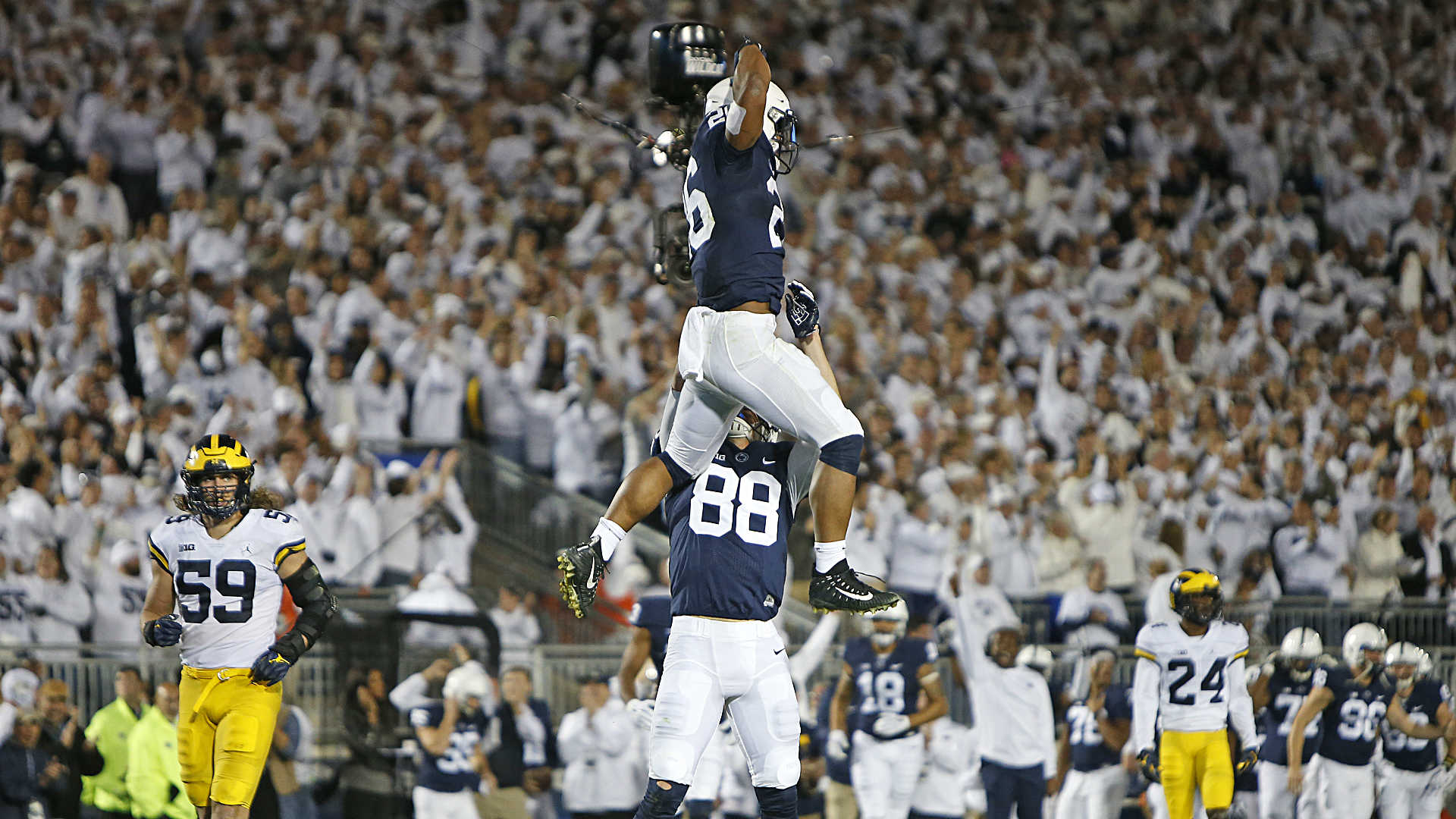 Saquon Barkley College Football S Most Outstanding Player