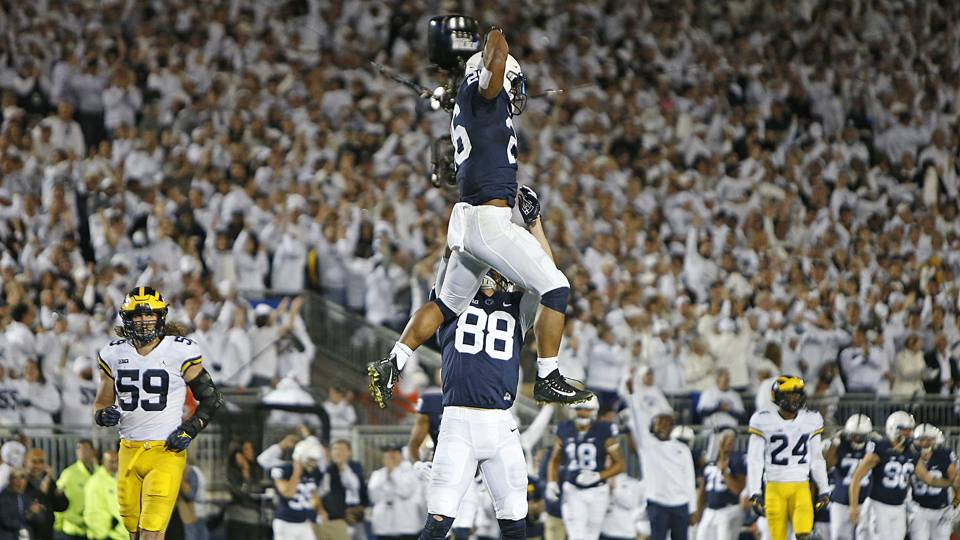 Saquon Barkley College Footballs Most Outstanding Player Deserves