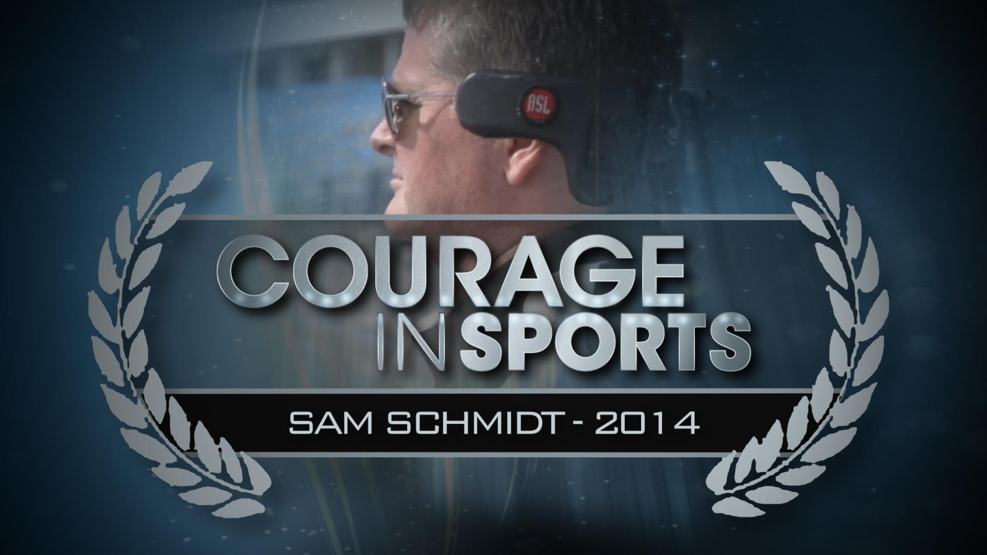 Lap of a lifetime: Sam Schmidt's story