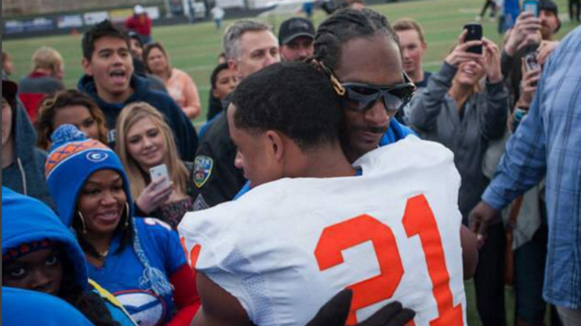 Snoop Dogg Son Football Bishop Gorman Cordell Broadus Bishop Gorman