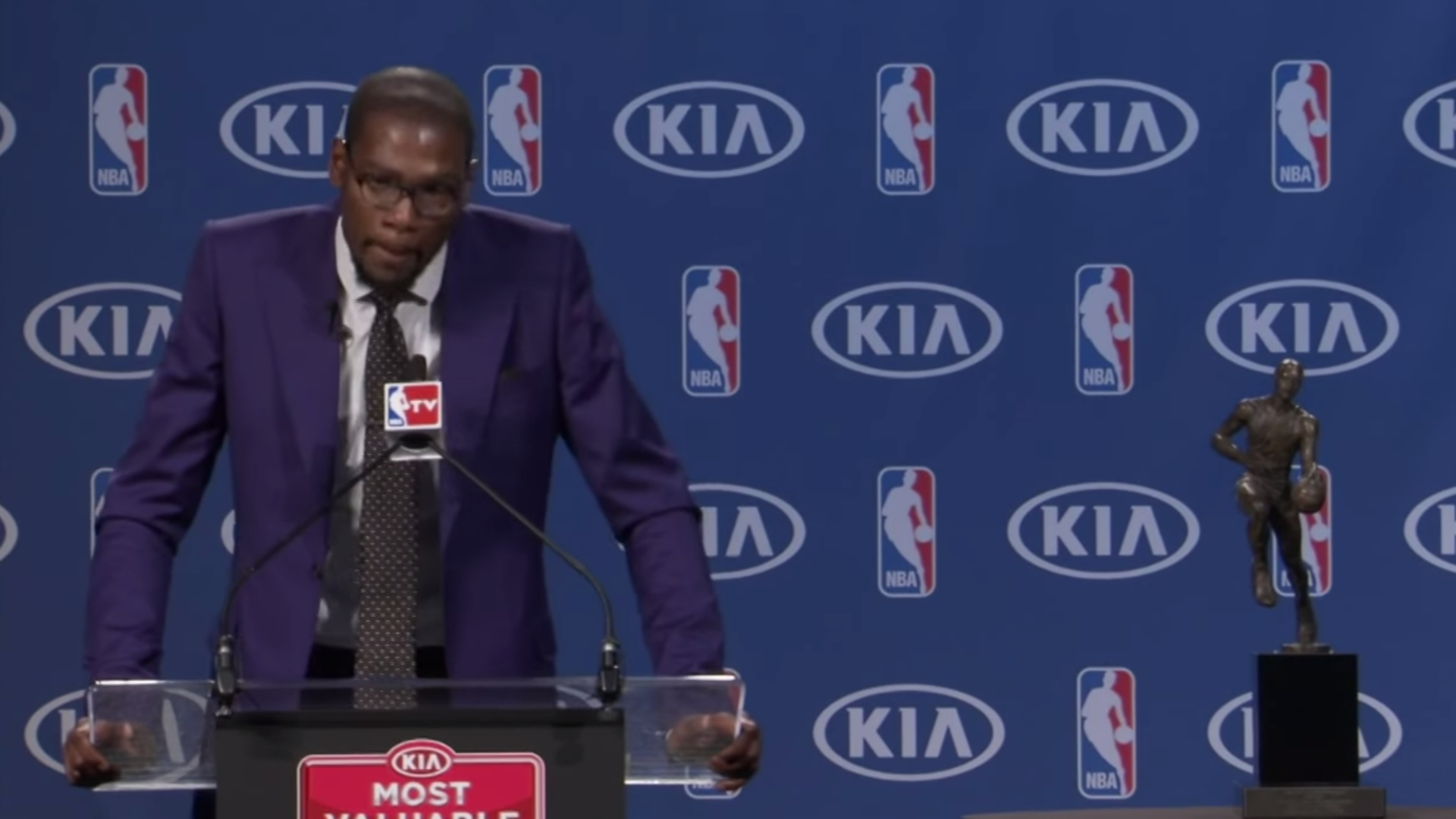Kevin Durant's newest Nike release is a tribute to his MVP speech