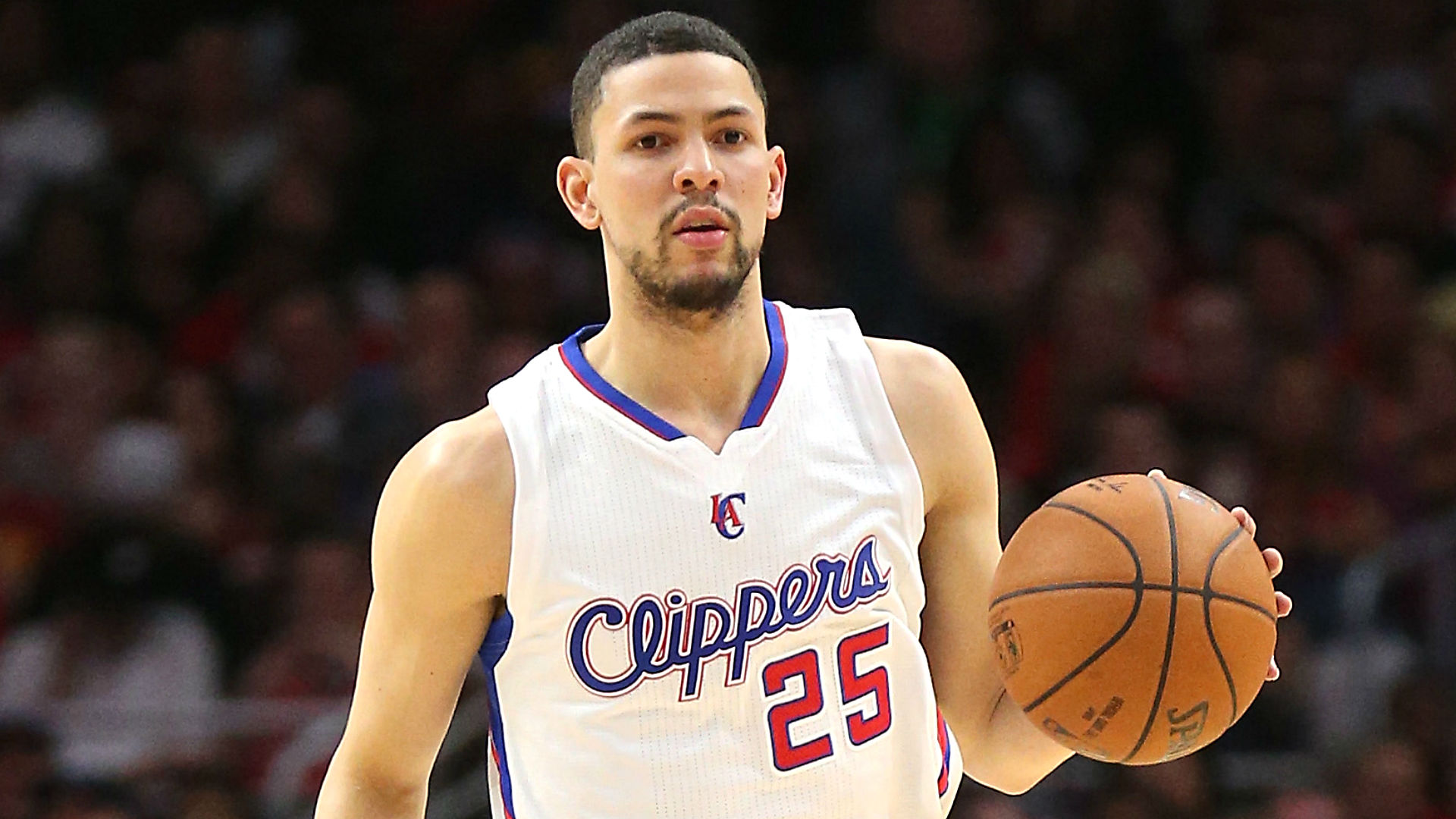 Austin Rivers just another guy playing for dad's Clippers