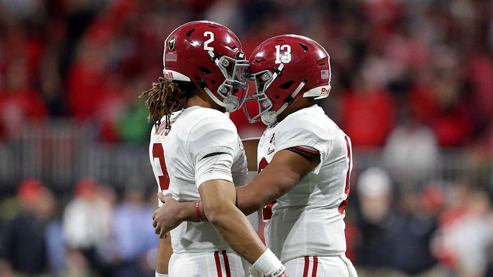 Alabama QB competition  Sizing up Jalen Hurts vs. Tua Tagovailoa ... a4fa4af92