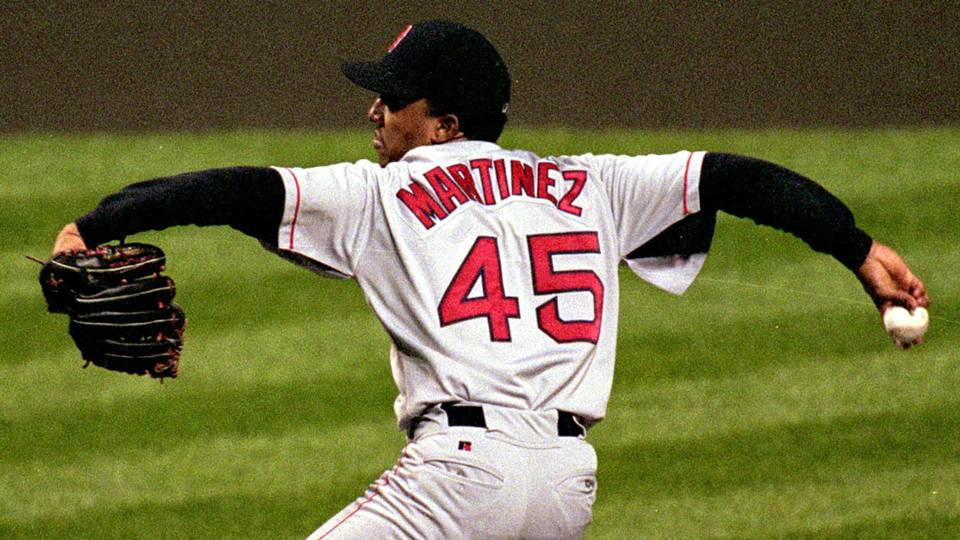 Red Sox to retire Pedro Martinez s No. 45 jersey on July 28  87eaecffad3