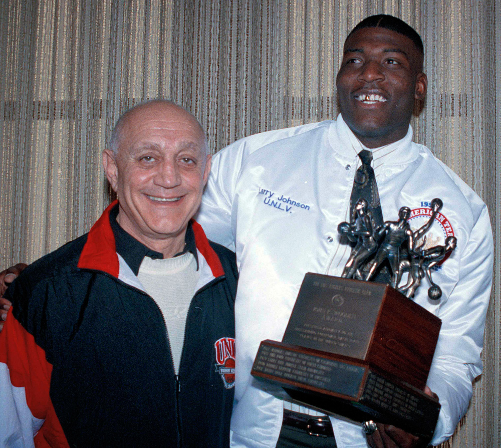 Larry Johnson and Jerry Tarkanian