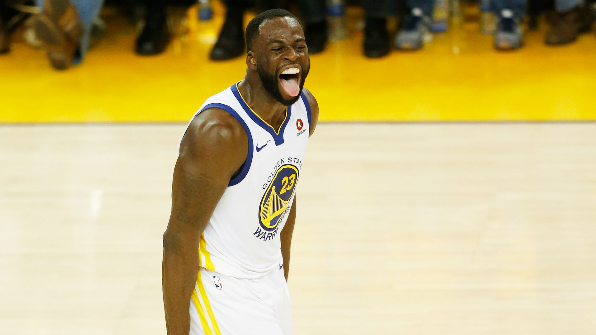 Draymond Green's on-court production, antics leave early imprint on NBA Finals