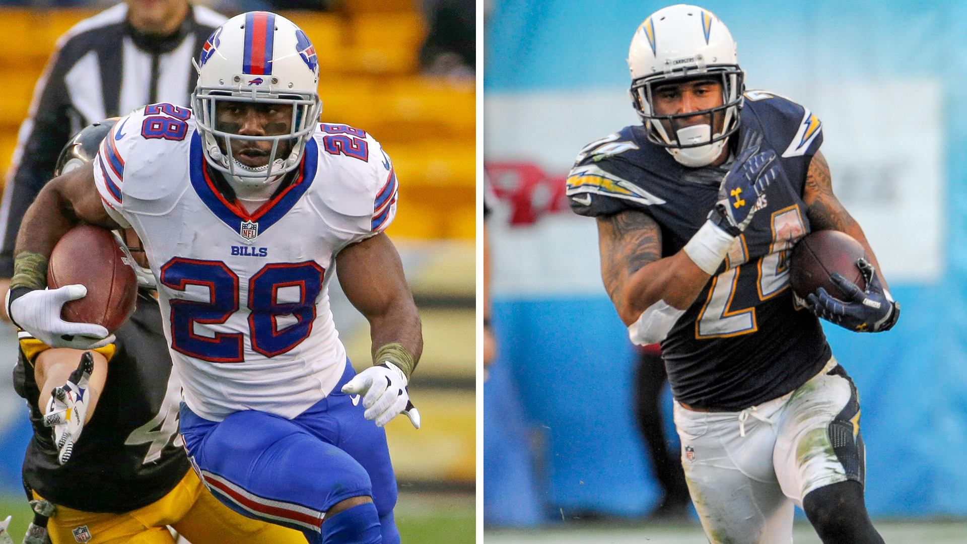 The Decider: Ryan Mathews vs. C.J. Spiller