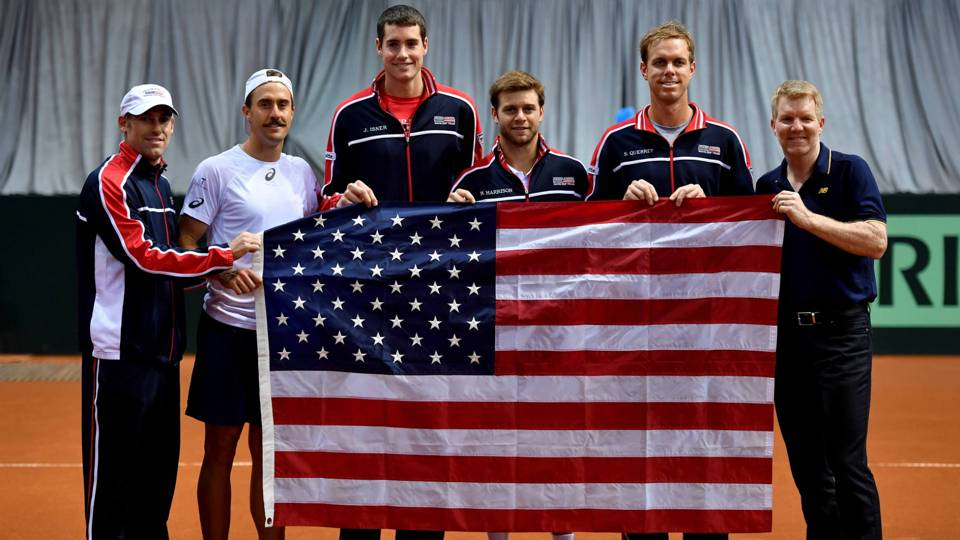 U.S. Davis Cup Team, Getty Images