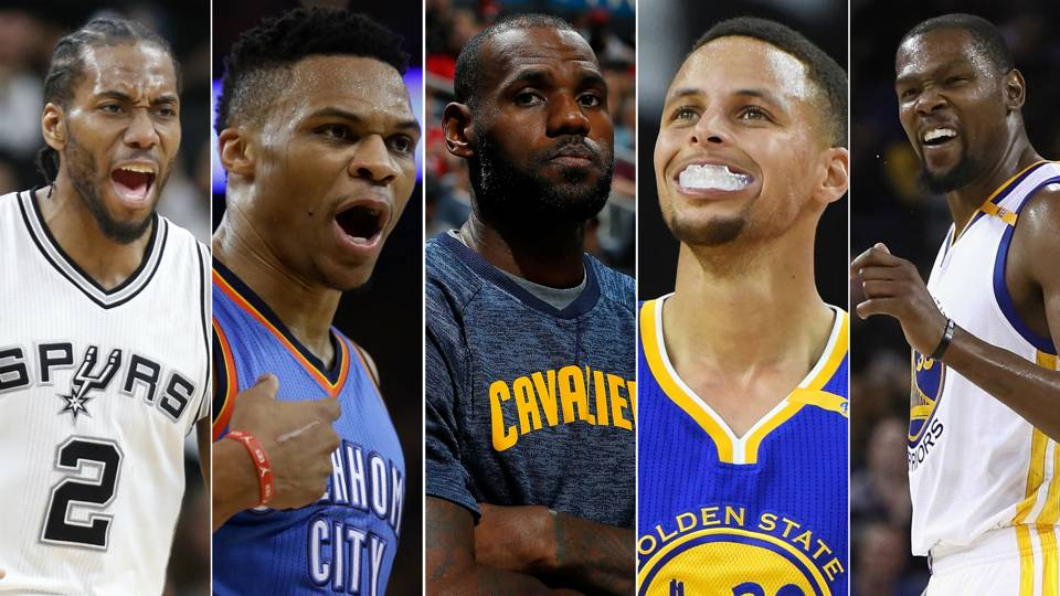 Nba Awards Predictions For 2017 18 Mvp Race Becomes Cloudy With