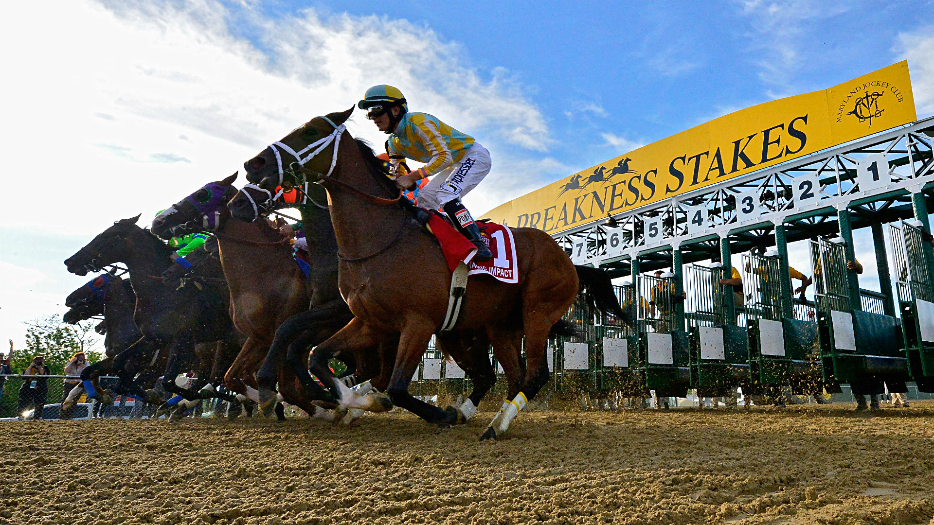 2016 Preakness Stakes Race Sequence | Features | BloodHorse.com