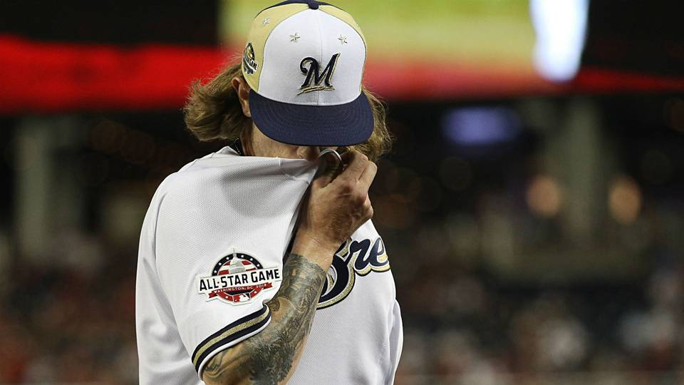 97f9581ca Josh Hader apologizes for racist