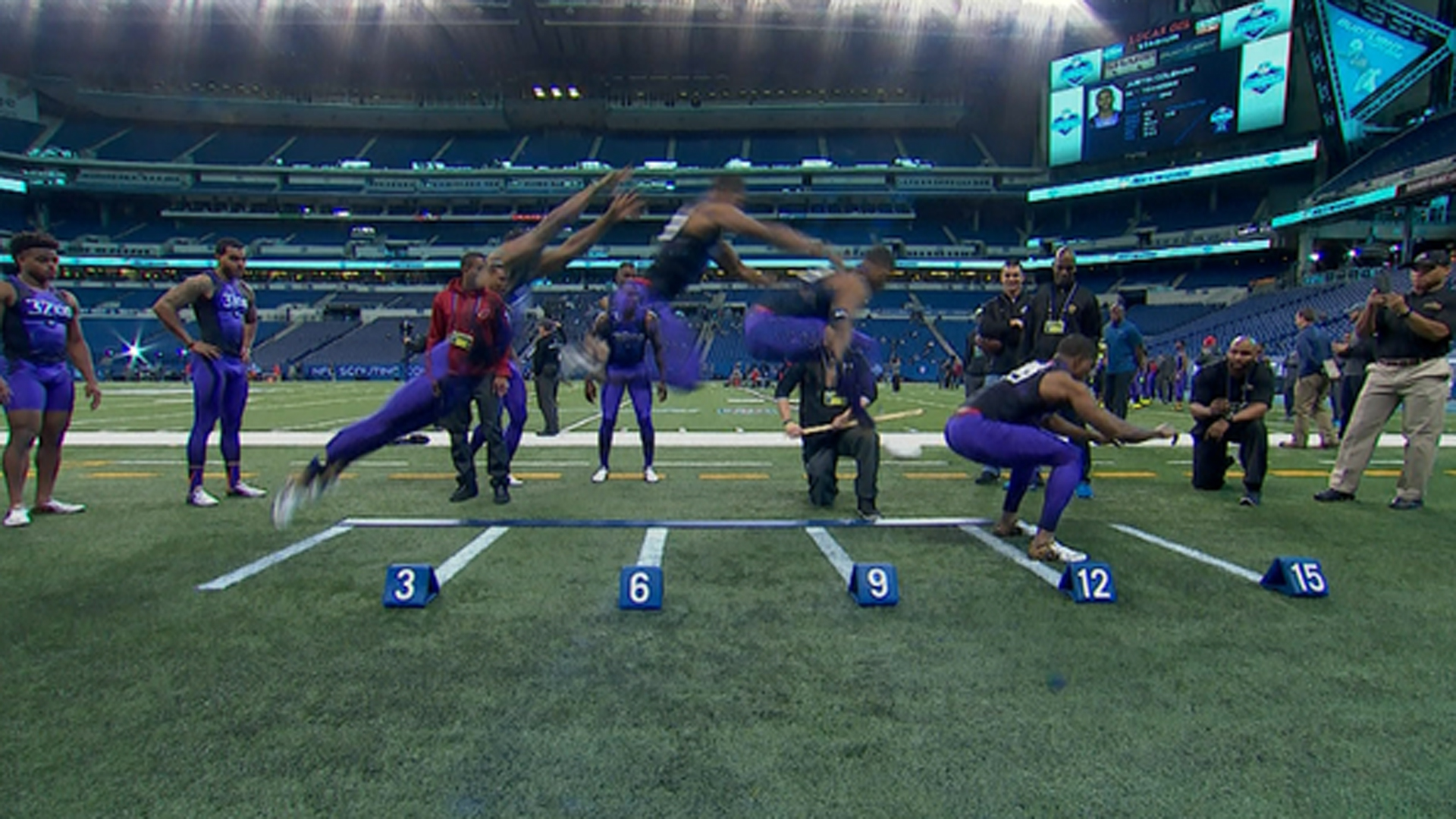 Nfl Combine Bench Record 28 Images Running
