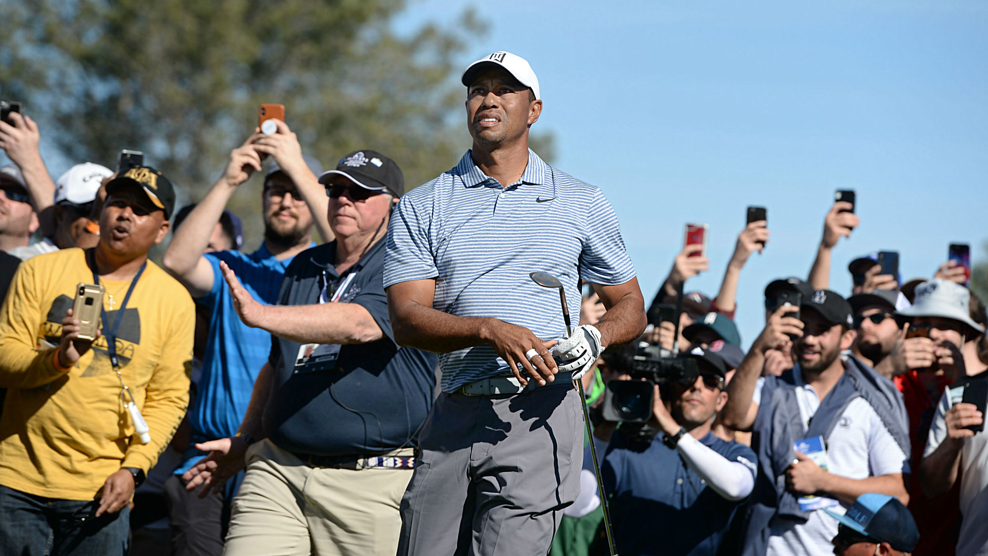 tiger woods u0026 39  score  results  highlights from round 3 at