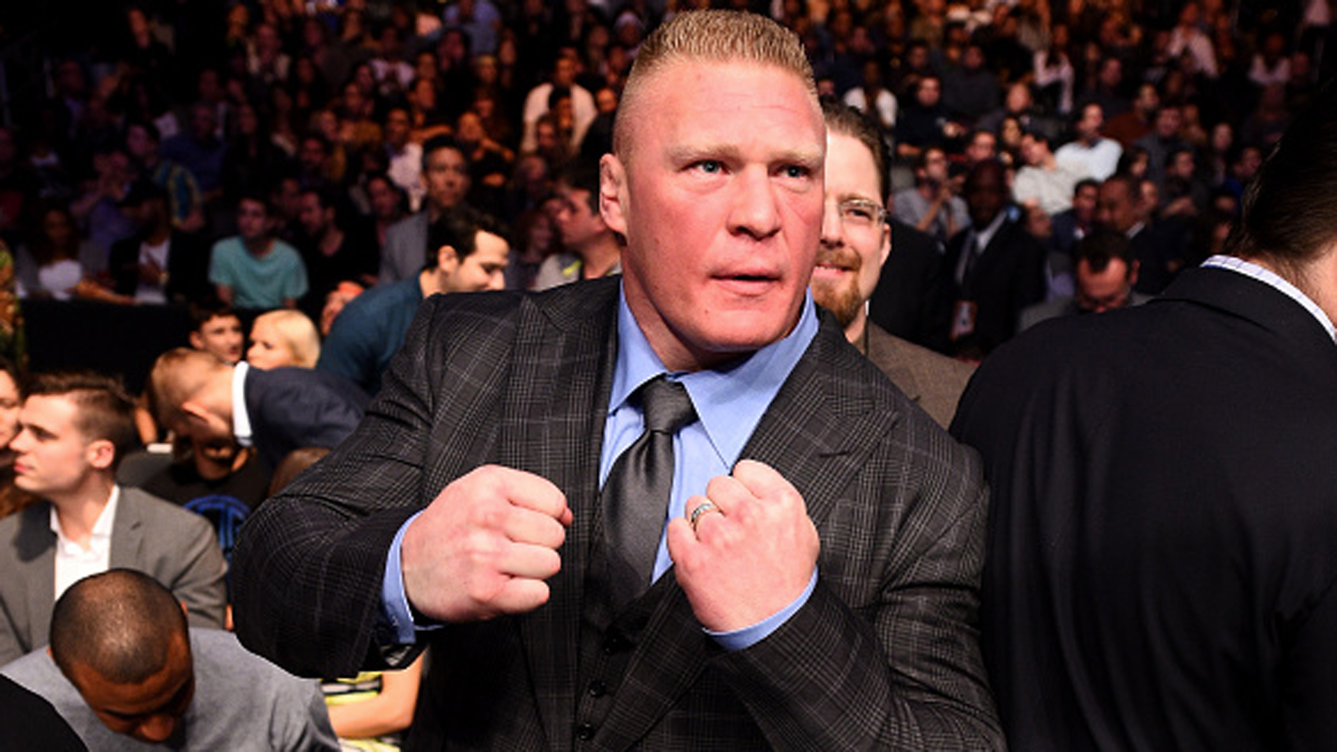 WWE's Brock Lesnar to fight at UFC 200