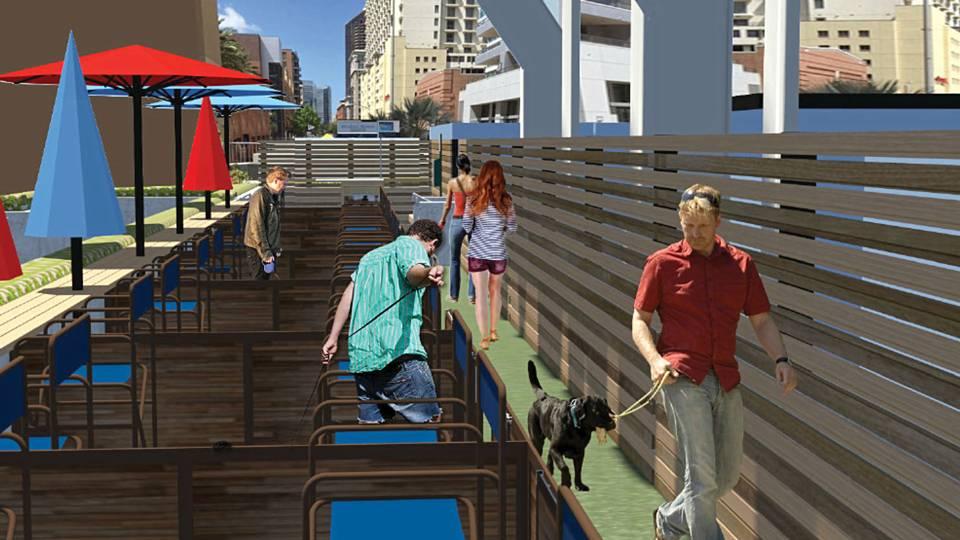 Padres Unveil Dog Friendly Seats At Petco Park Mlb