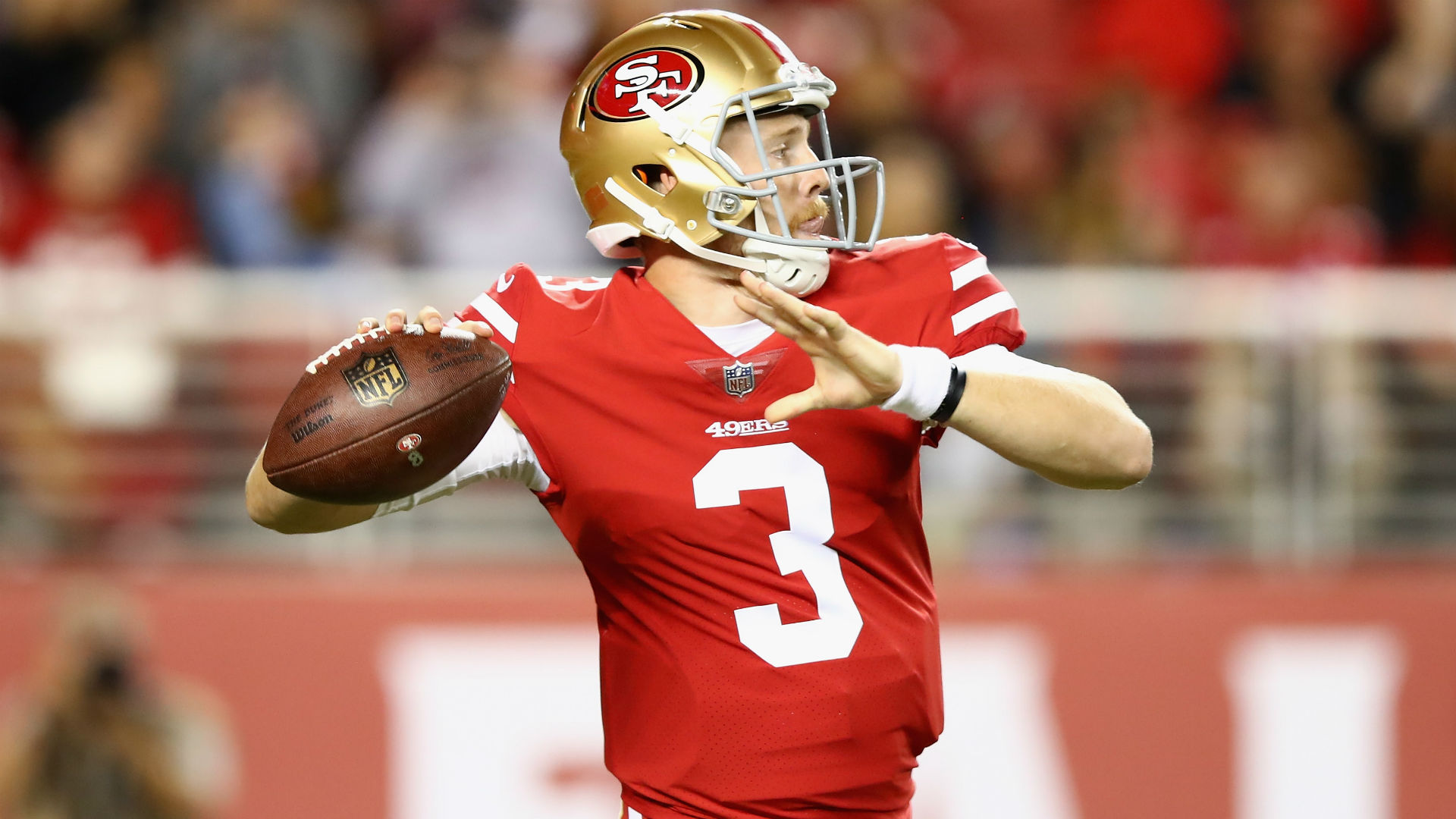 Little-known QB leads 49ers in rout of Raiders