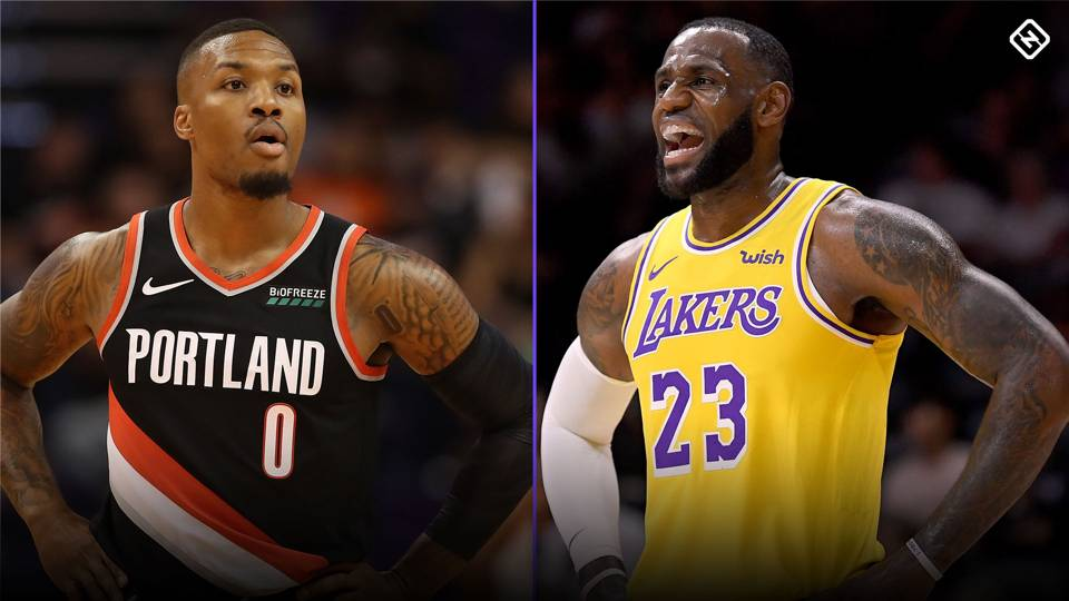 Image result for damian lillard lebron