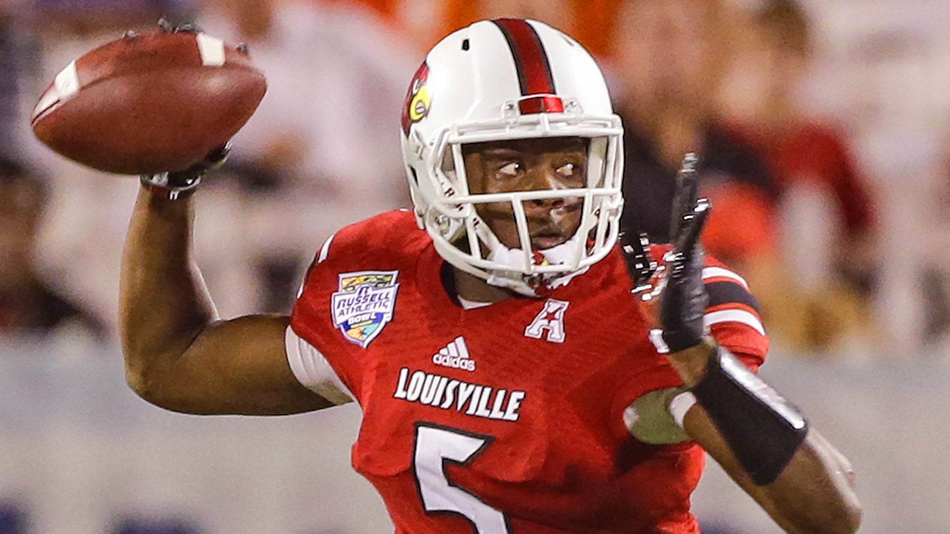 2014 NFL Draft -- Vikings select Teddy Bridgewater with No. 32 pick
