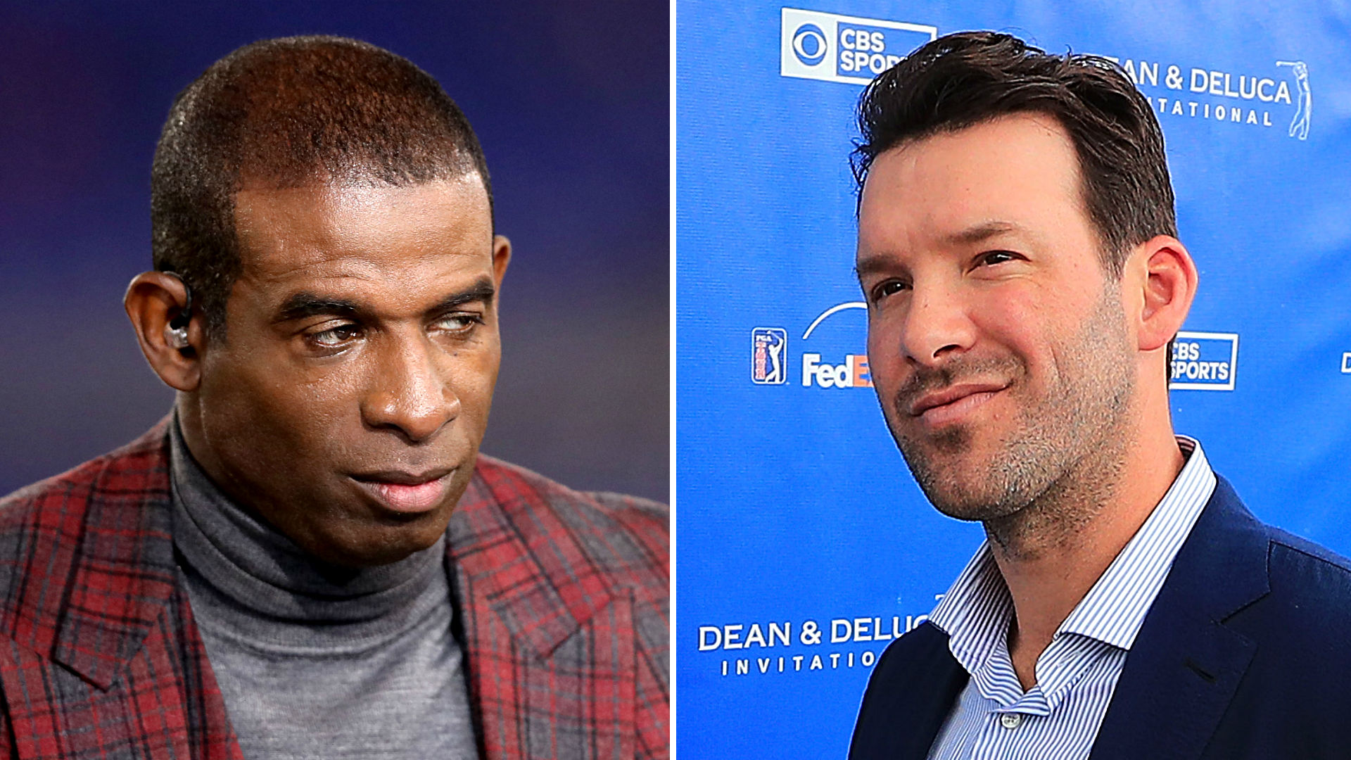 Deion Sanders goes low on Tony Romo after crack about avoiding contact