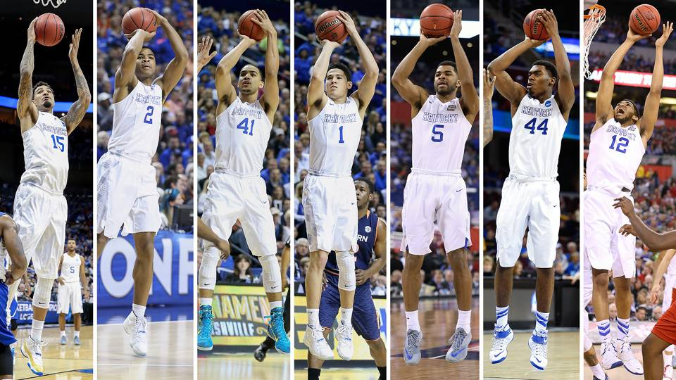 Uk Basketball Players: Karl-Anthony Towns Leads 7 UK Players Declaring For 2015