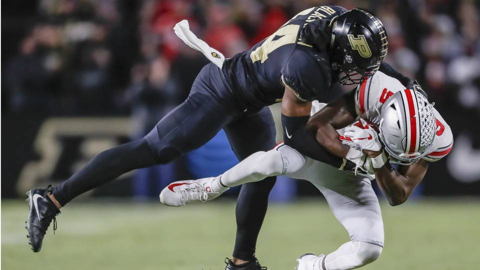 College Football Rankings Week 8 Ohio State S Loss To Purdue