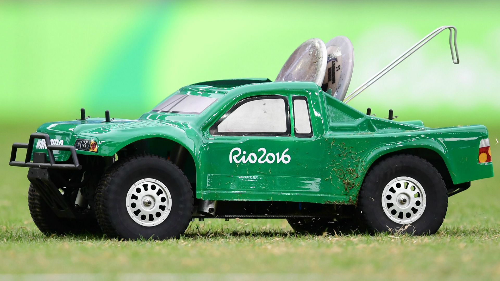 Remote Control Cars Are Olympic Workhorses Bestride