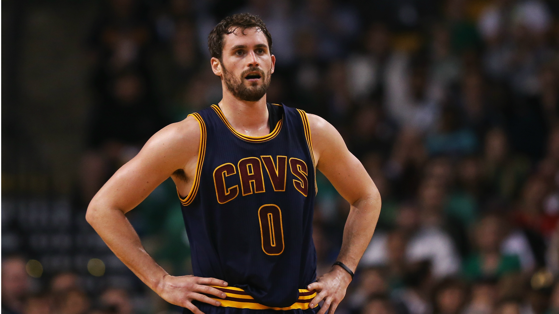kevin love finds a playoff identity as cavaliers near