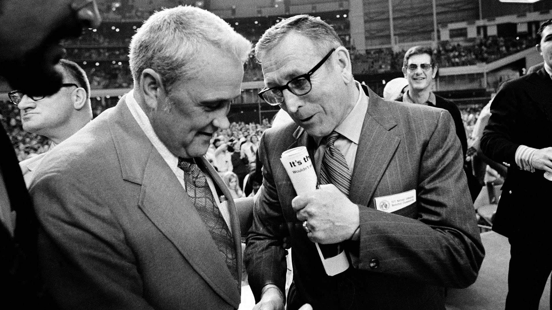 Jack Kraft and John Wooden