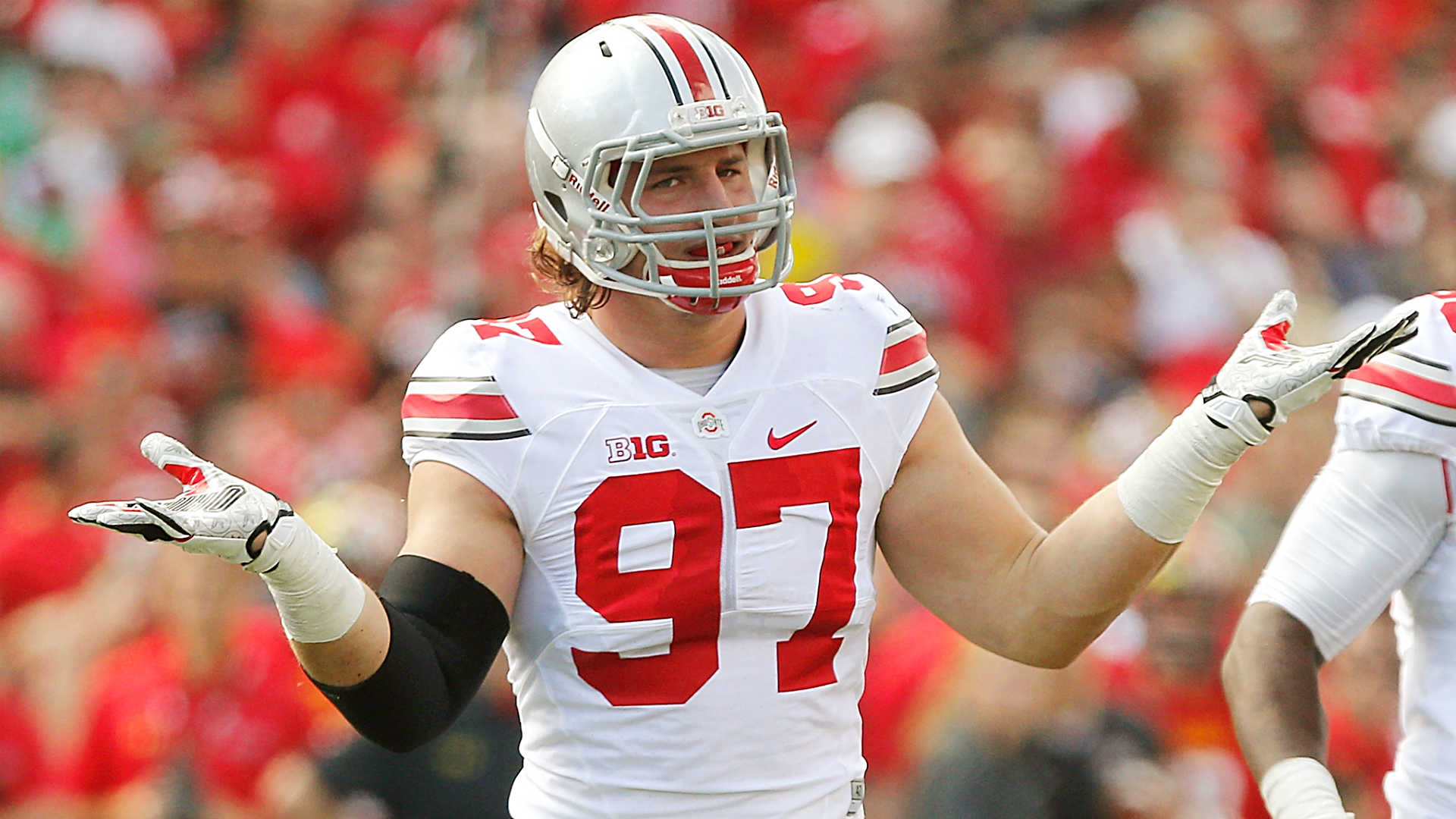 Joey Bosa could be No 1 pick someday but next move es first