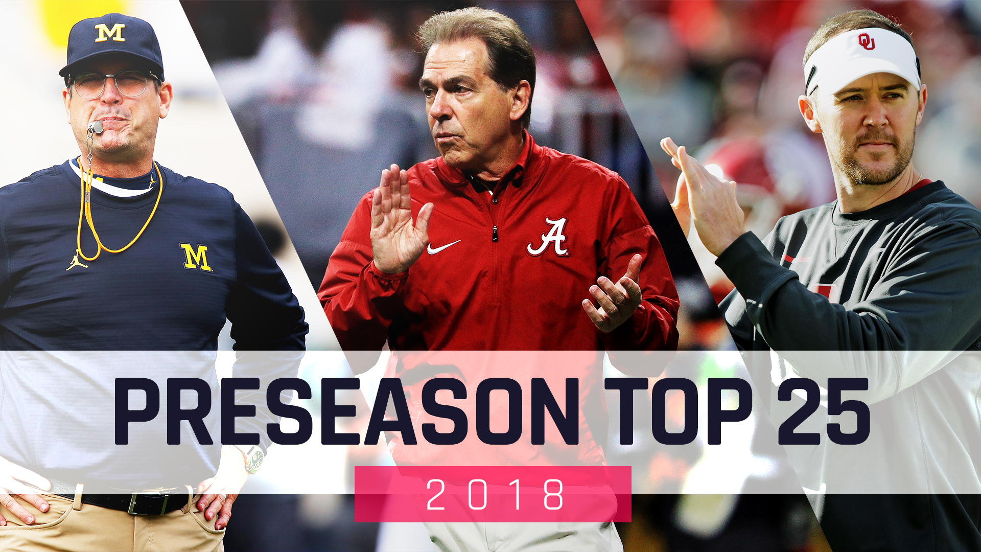 College football rankings: SN's preseason Top 25 for 2018 ...