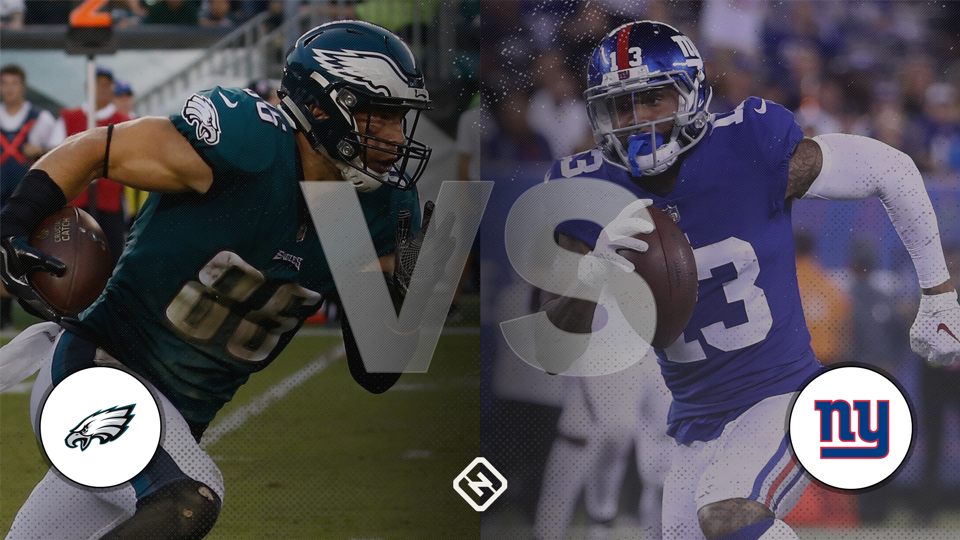 Eagles vs. Giants: Live score, highlights from 'Thursday Night Football' matchup