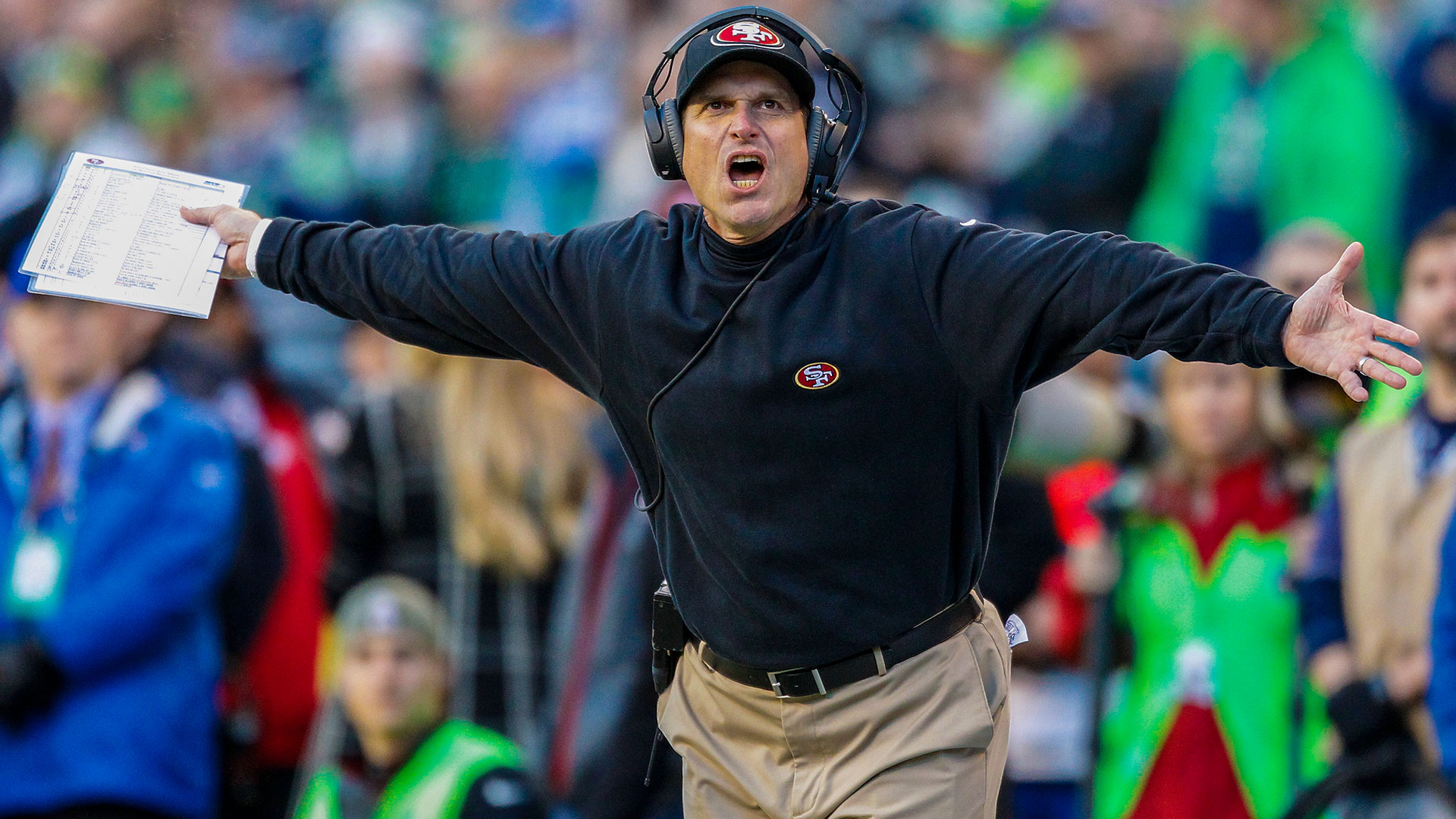 Reports Deal Done For Jim Harbaugh To Coach Michigan Nfl