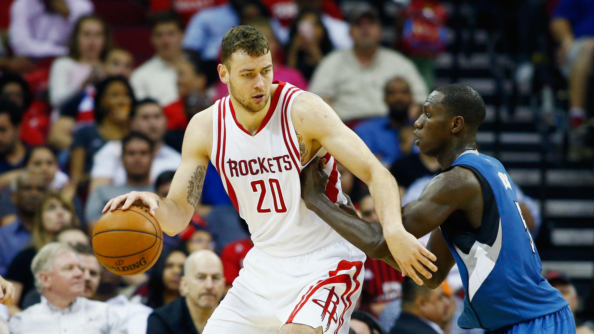 Pelicans big man Donatas Motiejunas suing Rockets, NBA over contract