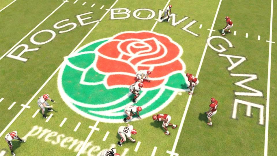 NCAA Football 14 Rose Bowl
