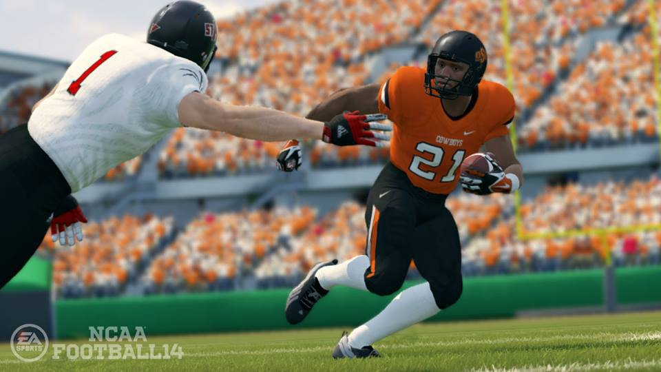 NCAA Football 14 Barry Sanders