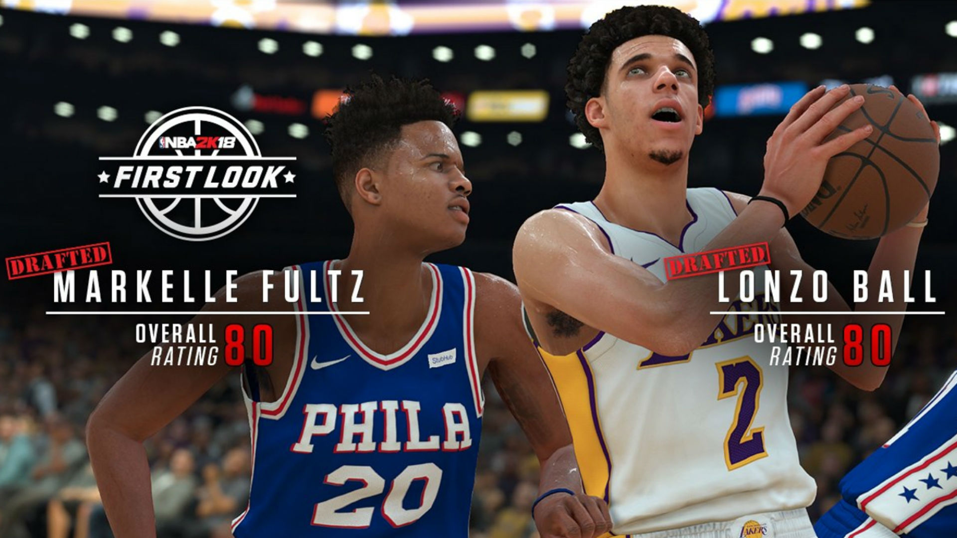 Lonzo Ball, Markelle Fultz and Kevin Durant praised in National Basketball Association 2K ratings