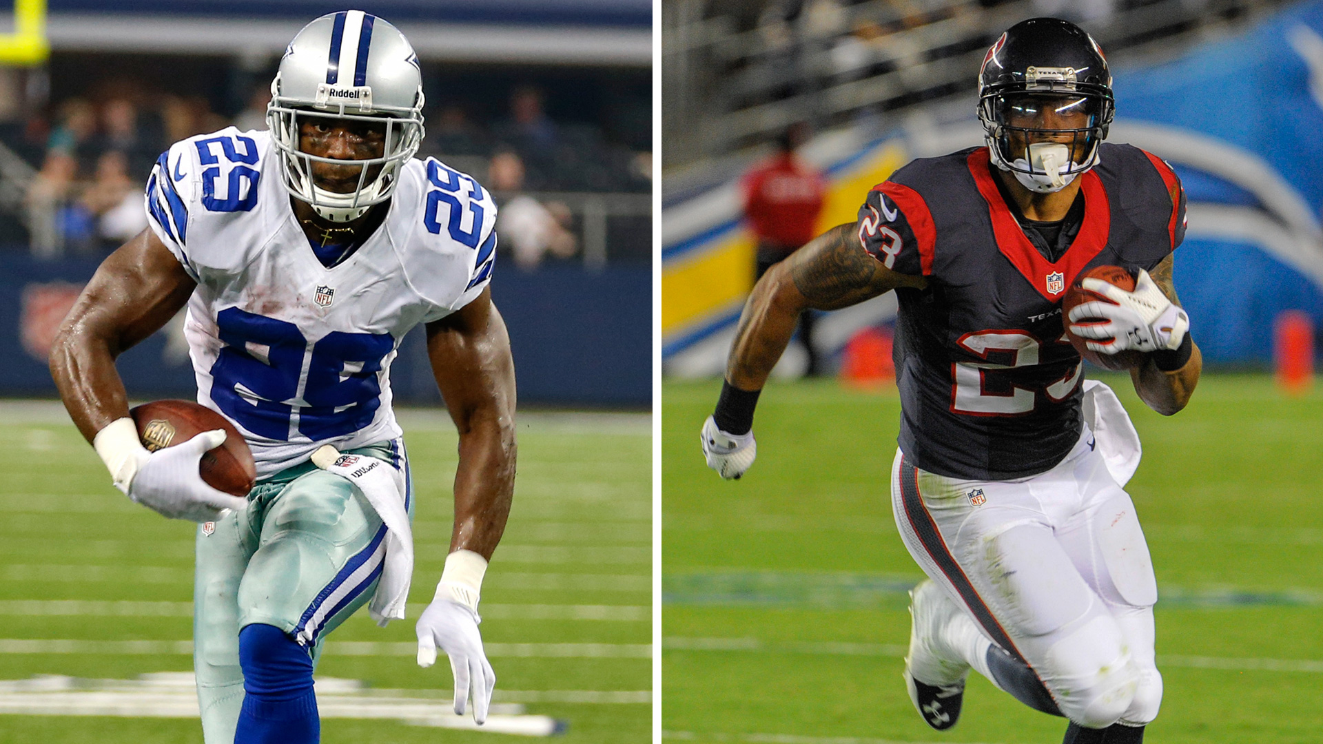 The Decider: Arian Foster vs. DeMarco Murray